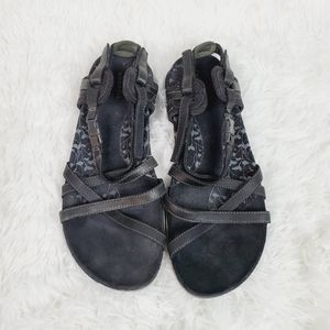 Merrell San Remo Black and Grey Sandals